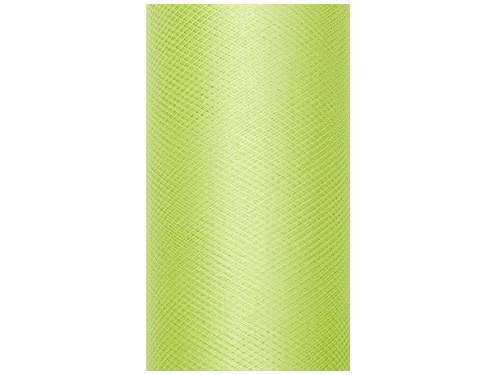 0c62c25a Tiul dekoracyjny 50 cm - jasnozielony, 9 m