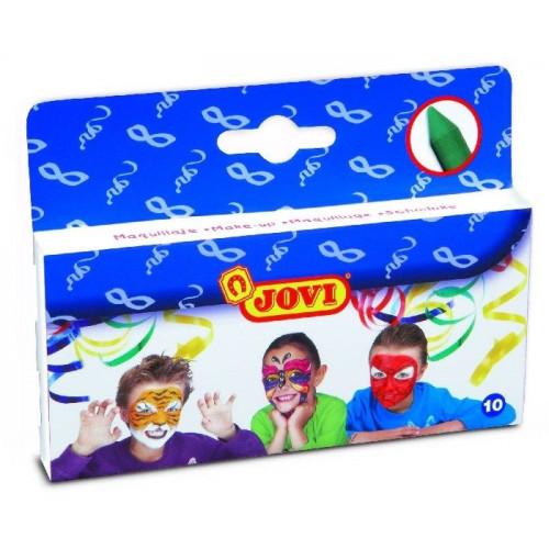 Face and body make-up sticks - Jovi -10 colors