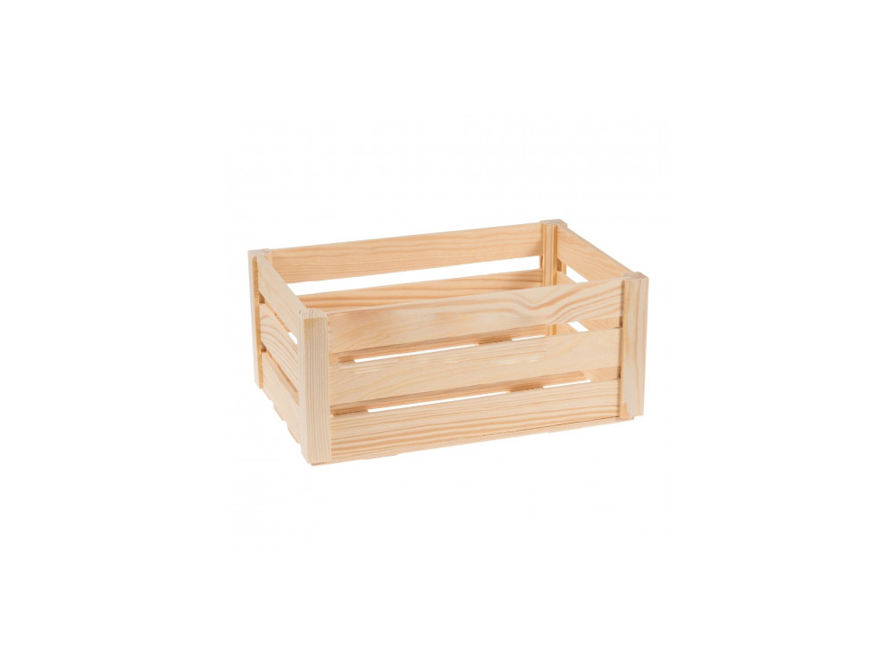 Wooden Box Chest - Medium