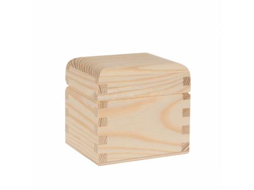 Pojemnik drewniany na herbatę, herbaciarka - 1 przegroda