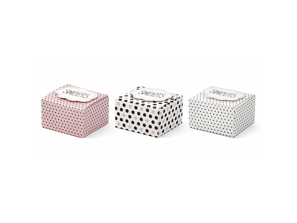 Boxes with a cloud Sweets - 6 pcs.