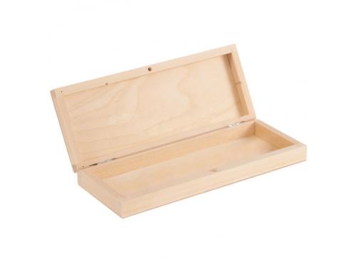 Piórnik drewniany bez przegródek
