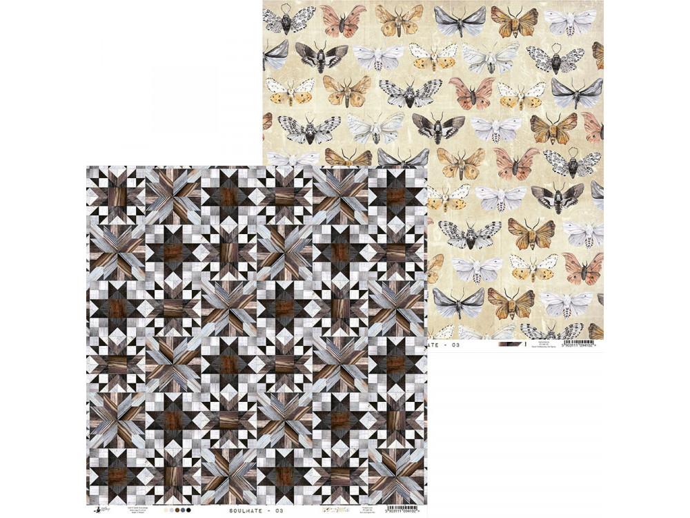 Paper 30,5 x 30,5 cm - Piątek Trzynastego - Soulmate 03