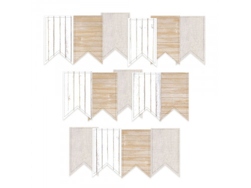 Die cut paper banners - Piątek Trzynastego - Soulmate, 15 pcs.