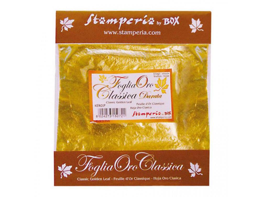 Gilding Foil Stamperia Gold 11 Sheets