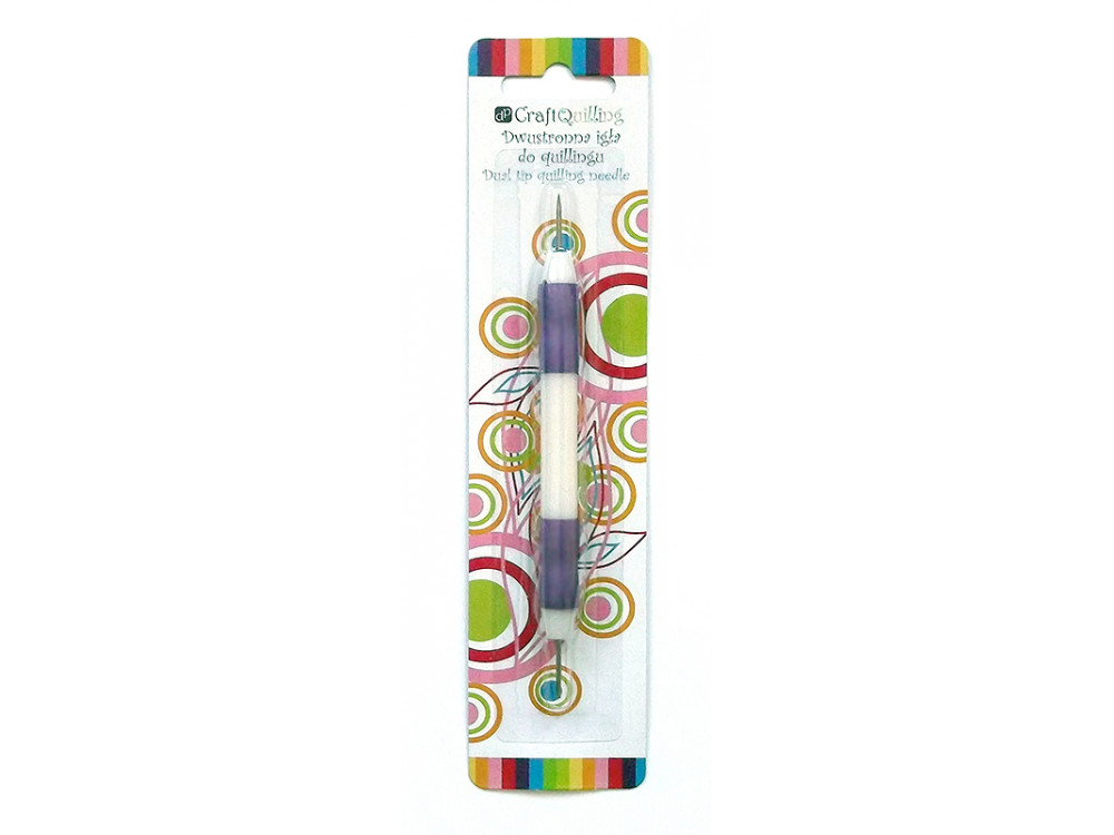 DUAL TIP QUILLING NEEDLE - SHORT