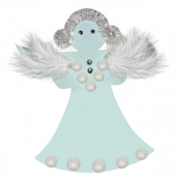FOAM CHRISTMAS ANGEL - CRAFT KIT