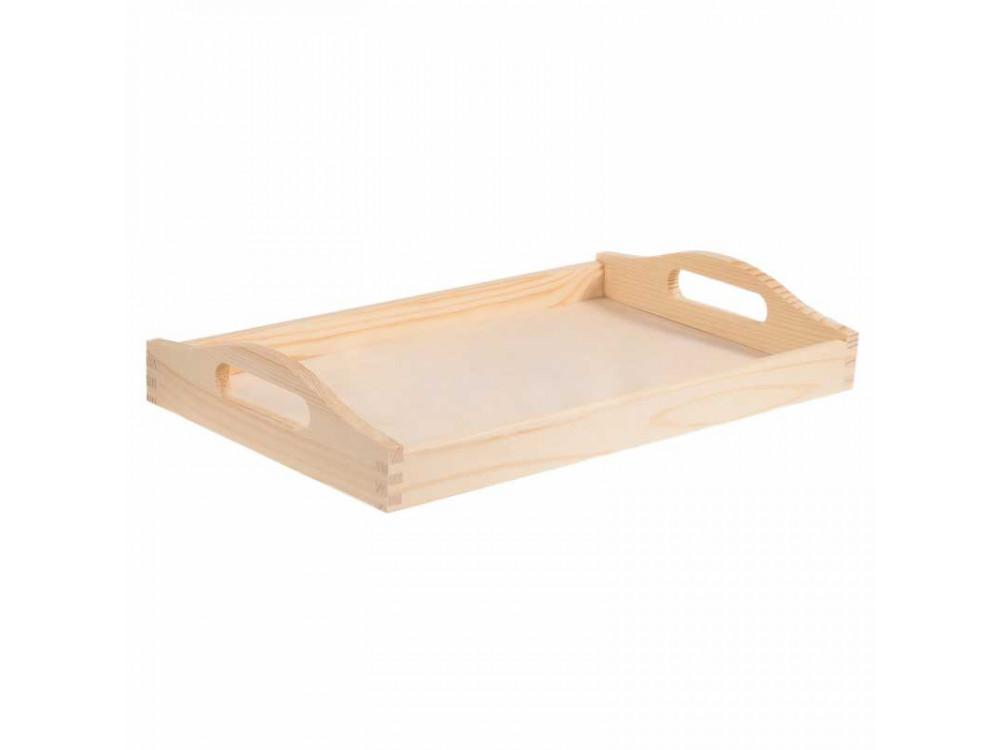 Taca drewniana - średnia, 24 x 39,5 cm