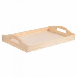 Taca drewniana - mała, 20 x 30 cm