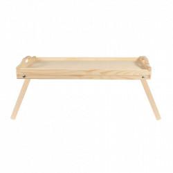 Taca drewniana rozkładana - 50 x 30 cm