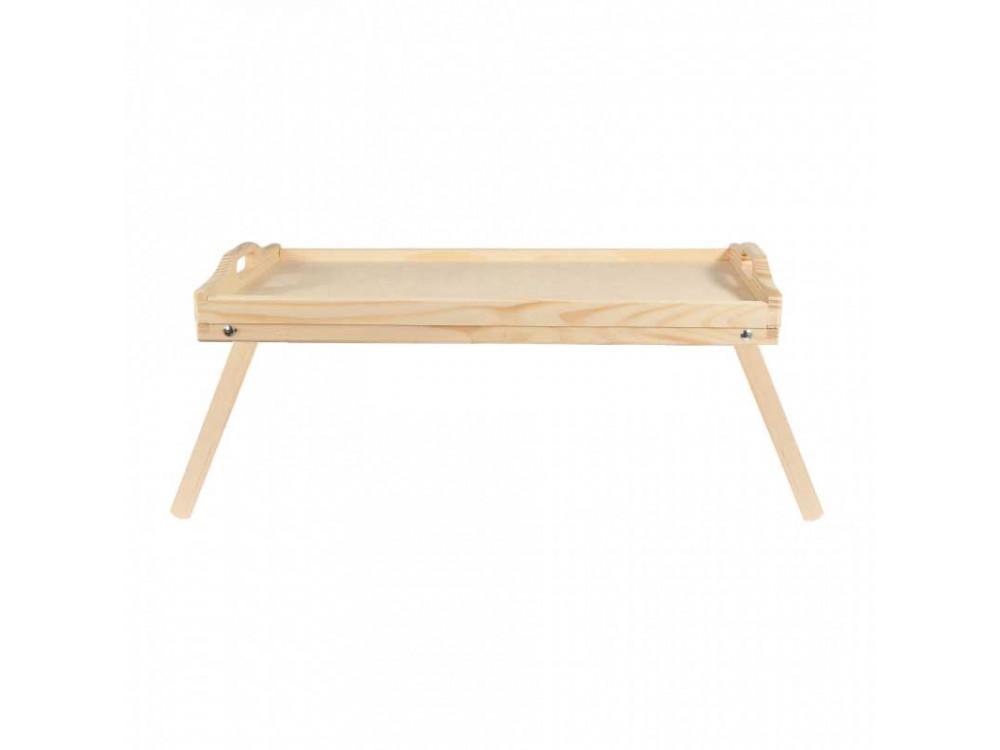 Taca drewniana - rozkładana