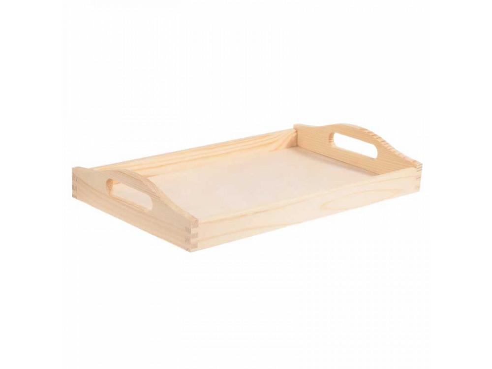 Taca drewniana duża - 30 x 50 cm