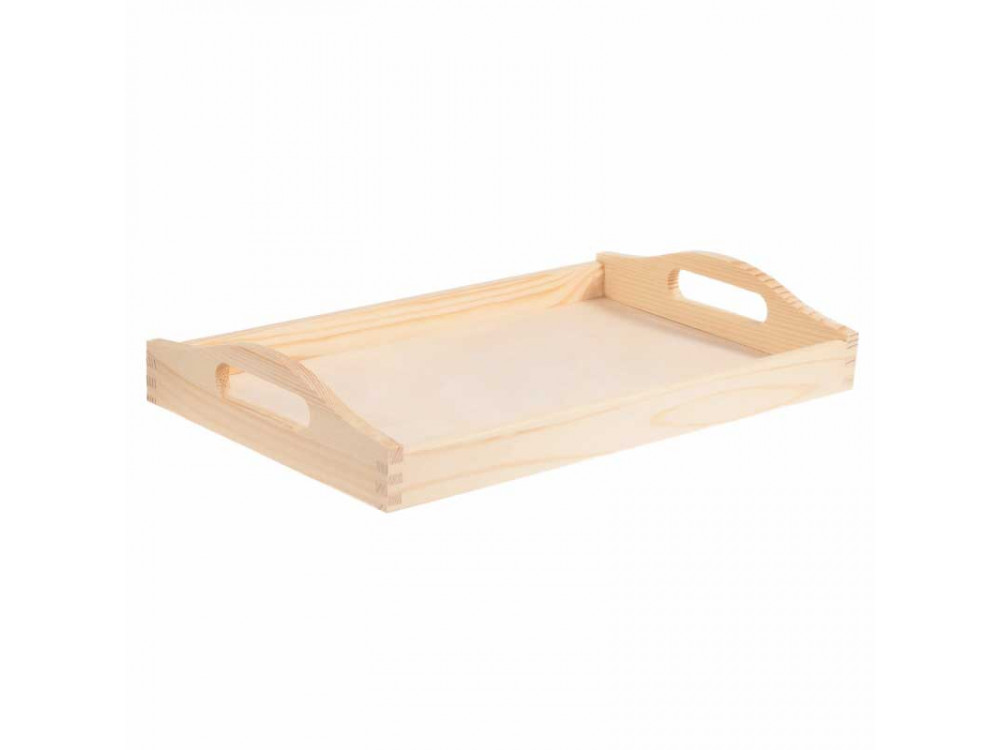 Wooden simple tray - 30 x 50 cm