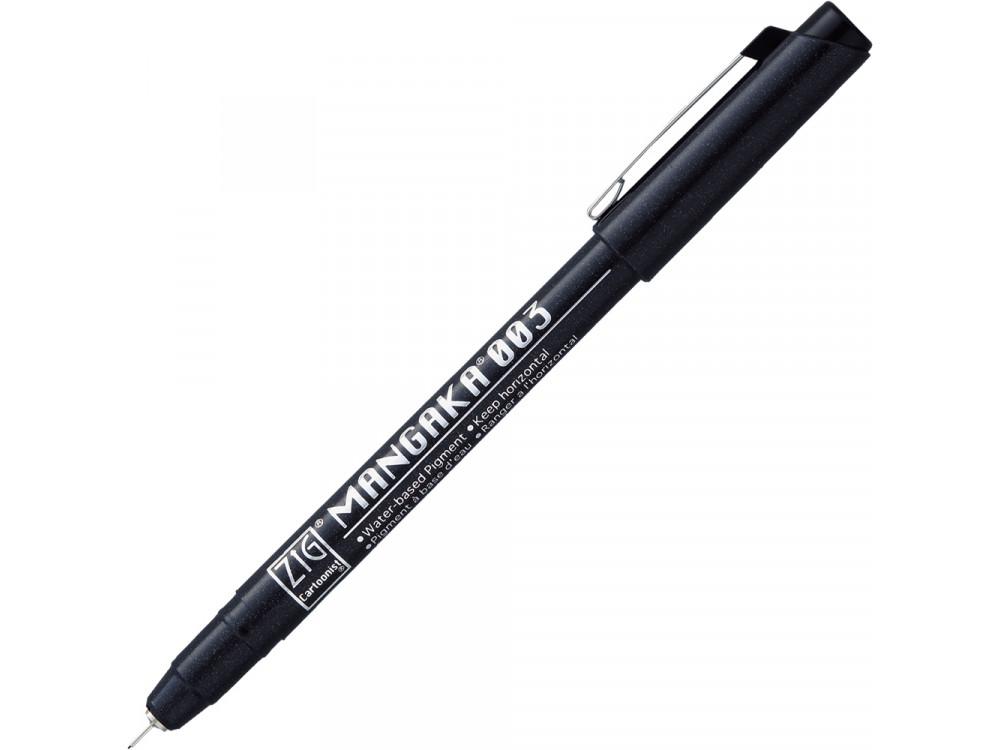 ZIG Cartoonist Mangaka pen - Kuretake - black, 0,03 mm