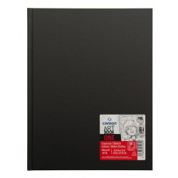 Sketchbook Art Book One A4 - Canson - black, 100 g, 100 sheets