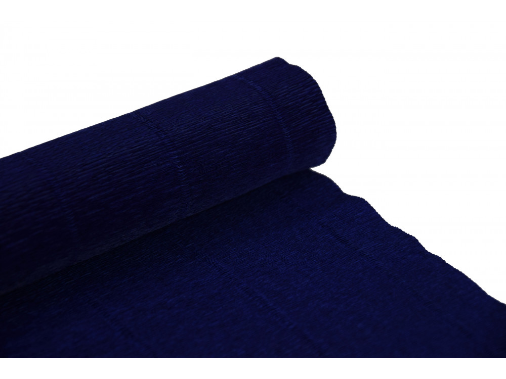 Italian crepe paper 180 g/m2 - Blue 555