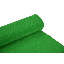 Krepina, bibuła włoska 180 g - Green, 50 x 250 cm