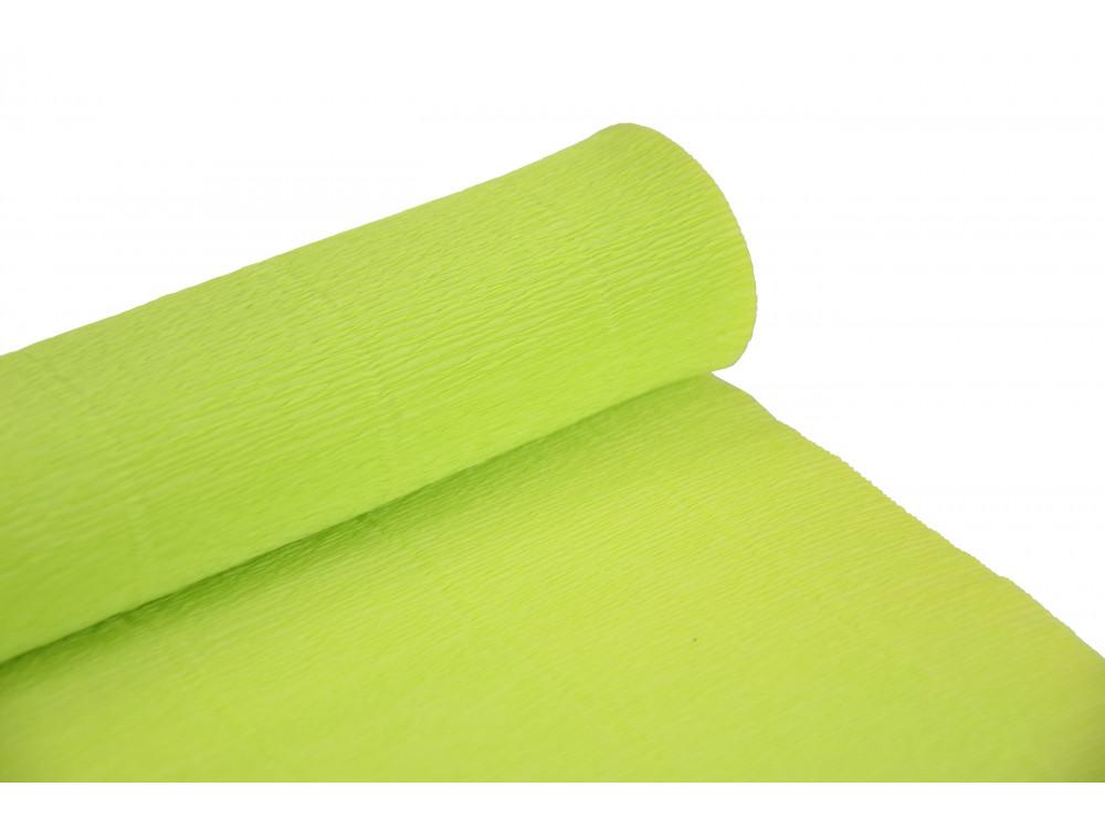Italian crepe paper 180 g/m2 - Acid Green 558