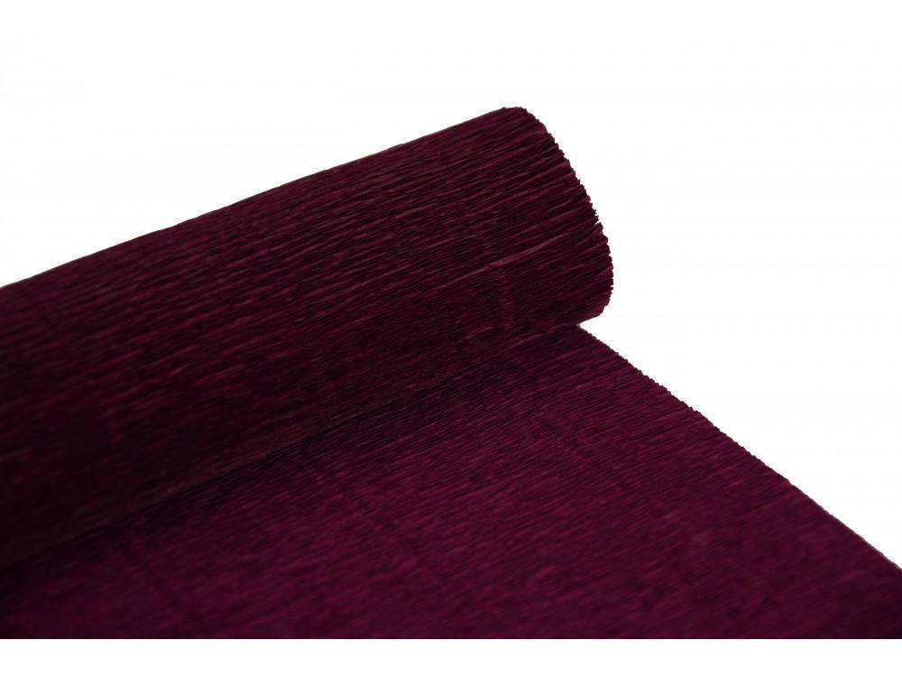 Italian crepe paper 180 g/m2 - Bordeaux Red 588