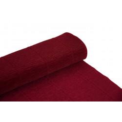 Krepina, bibuła włoska 180 g - Carmino red, 50 x 250 cm