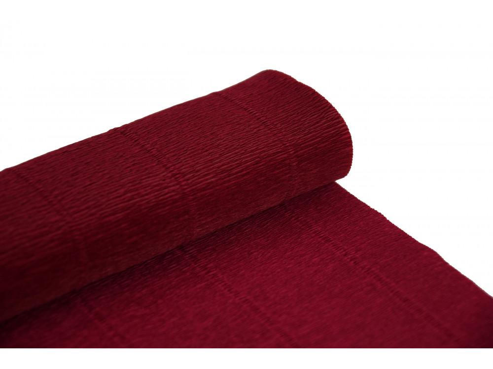 Italian crepe paper 180 g/m2 - Carmino Red 586