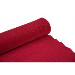 Krepina, bibuła włoska 180 g - Light red, 50 x 250 cm