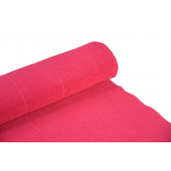 Krepina, bibuła włoska 180 g - Hydrangea pink, 50 x 250 cm