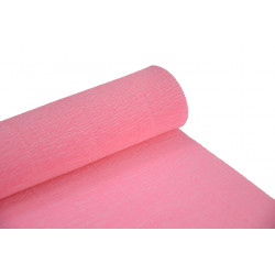Krepina, bibuła włoska 180 g - Pink, 50 x 250 cm