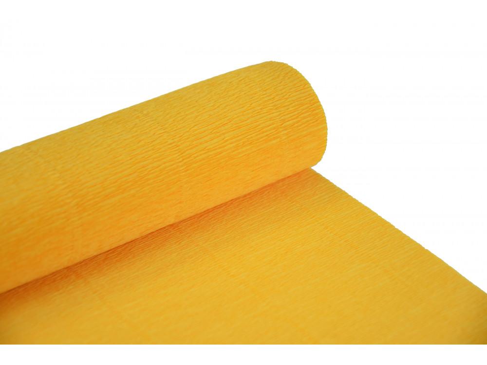 Italian crepe paper 180 g/m2 - Yellow 576