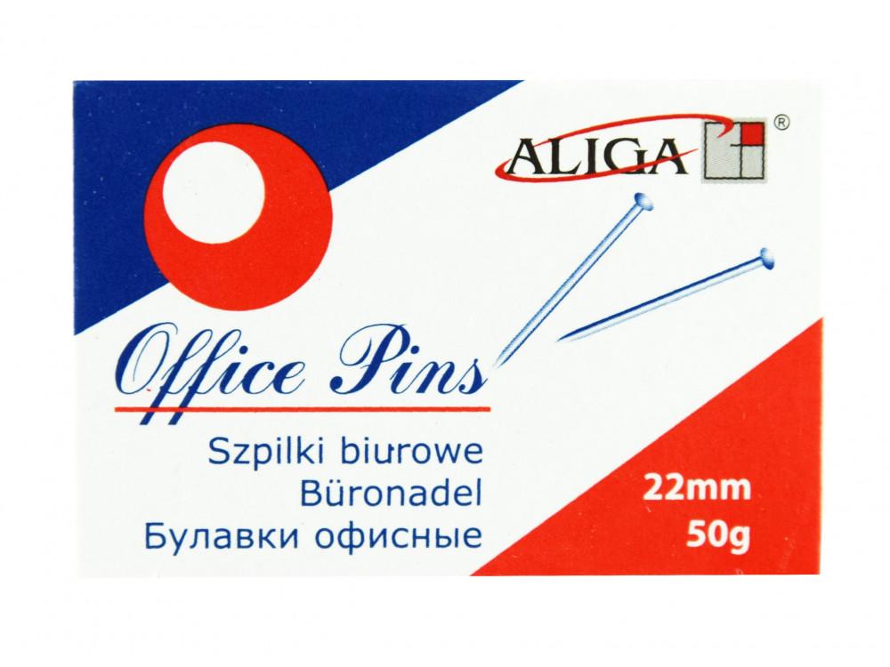 Szpilki krawieckie, długie - 22 mm, 50 g