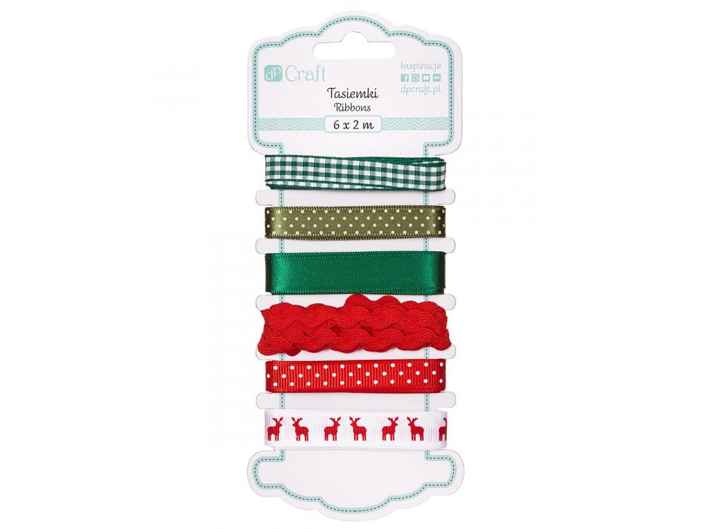 Decorative ribbons 038 - DpCraft - 6 pcs.