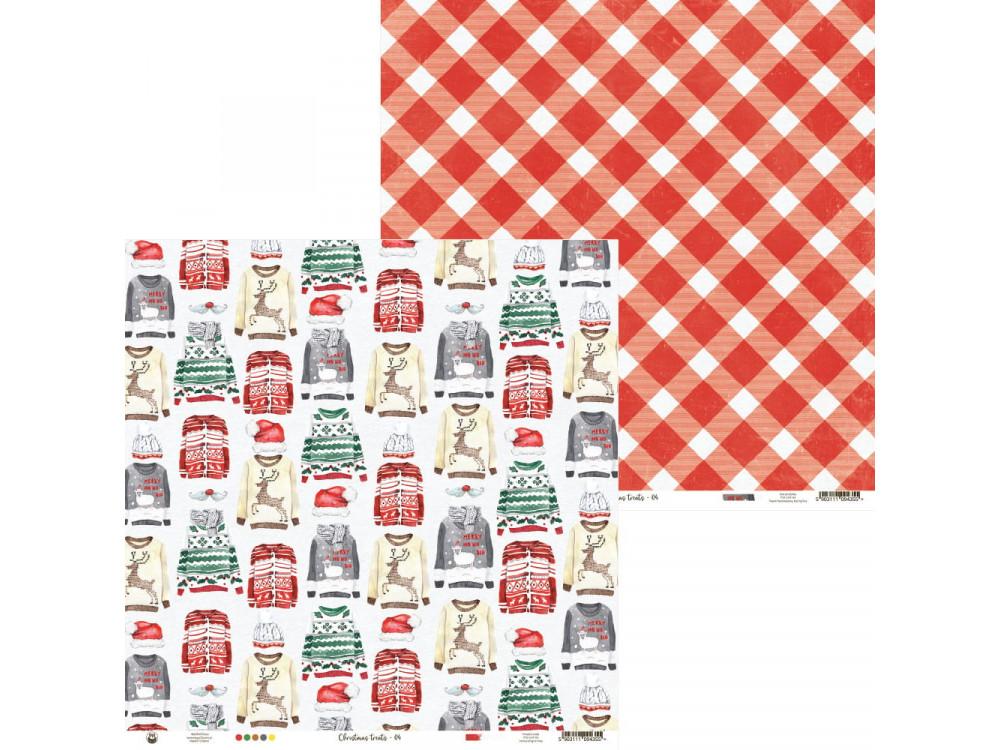 Paper 30,5 x 30,5 cm - Piątek Trzynastego - Christmas treats 04