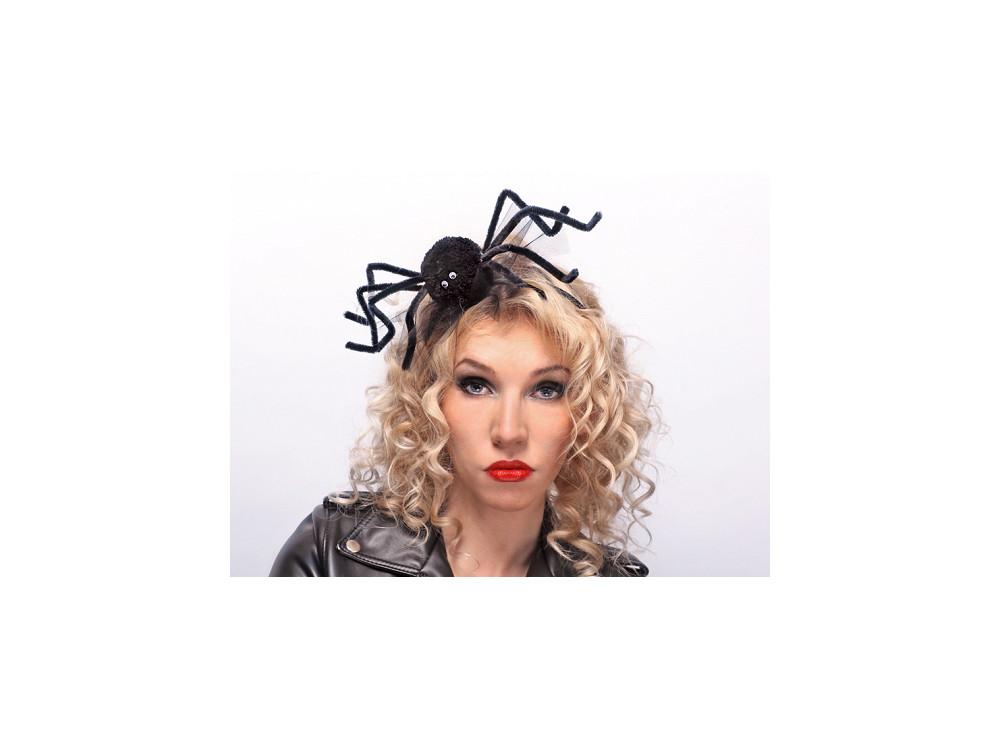 headband Spider - black