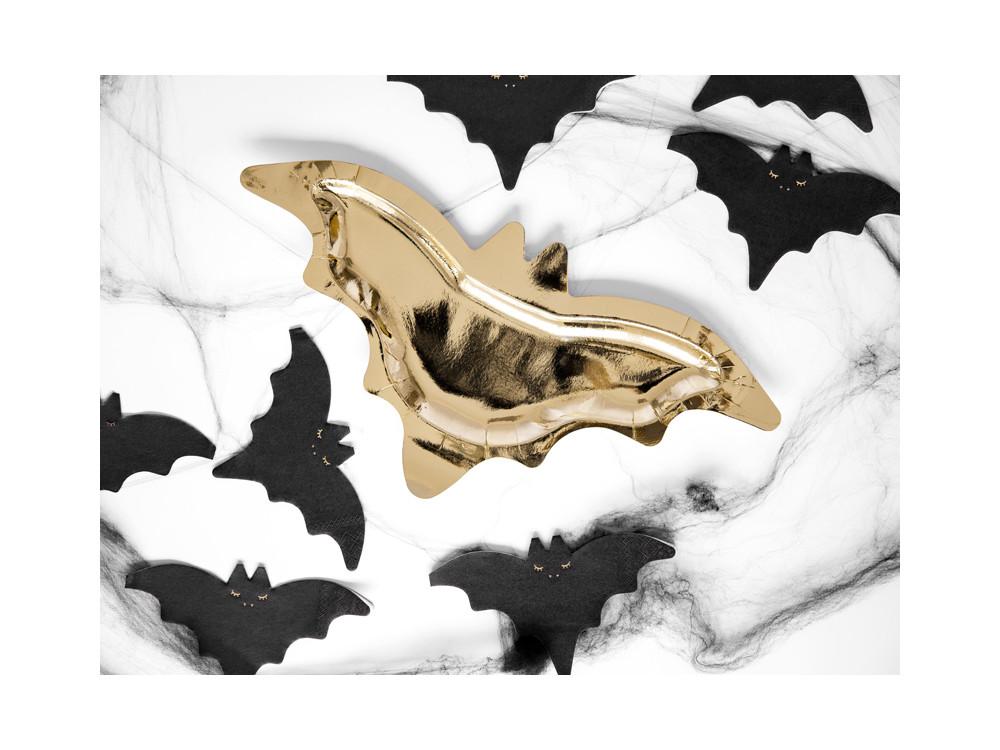 Napkins Bat - black, 9 x 16 cm, 20 pcs.
