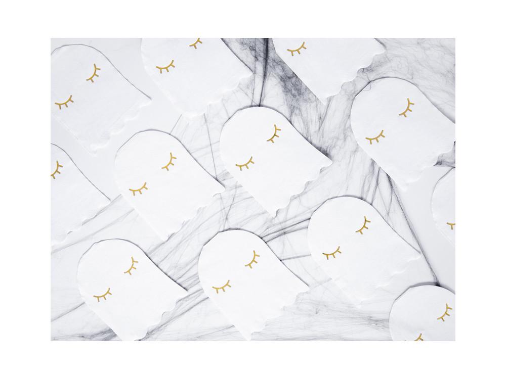 Napkins Ghost - white, 11 x 14 cm, 20 pcs.