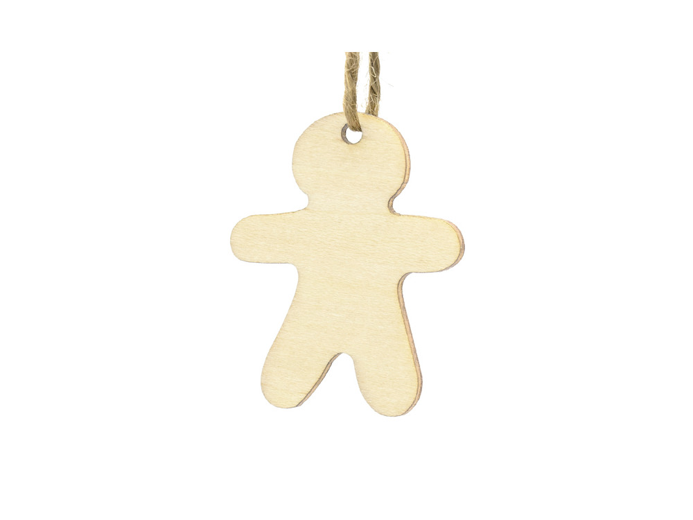 Wooden gifts tags - 12 pcs.