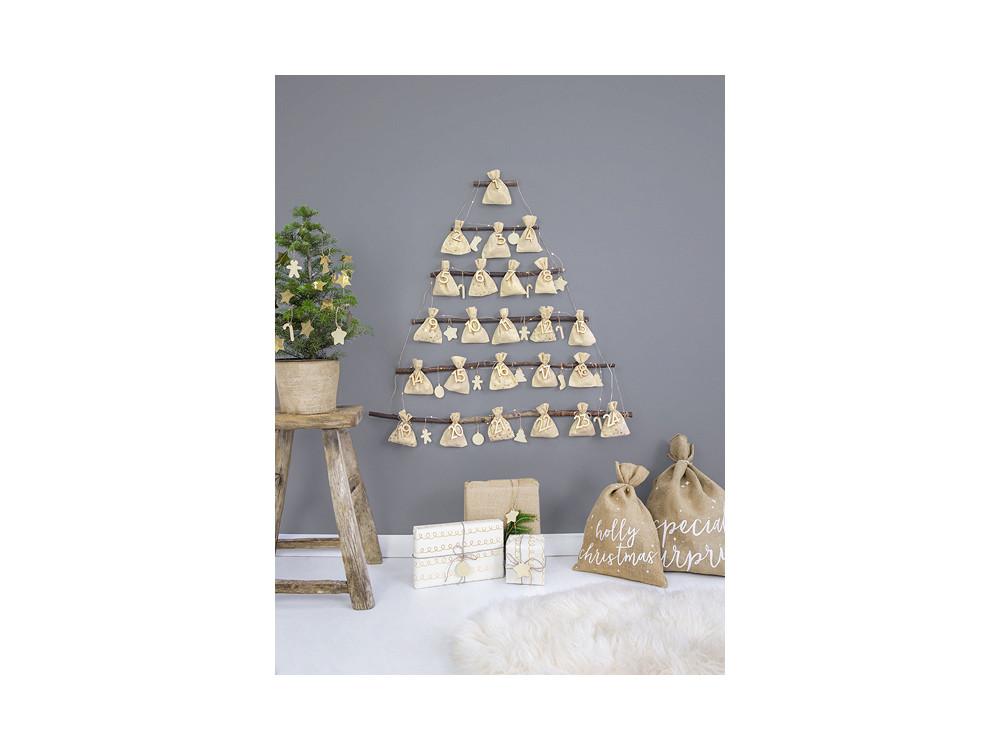 Advent calendar Bags - 24 pcs.