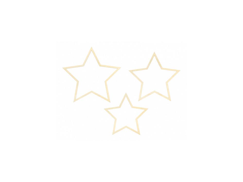 Hanging decoration Stars - 3 pcs.