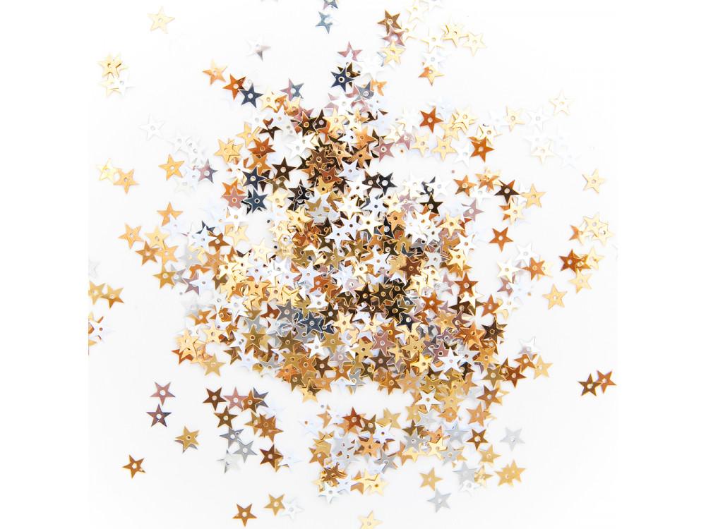 Sequins - Stars, 10 g