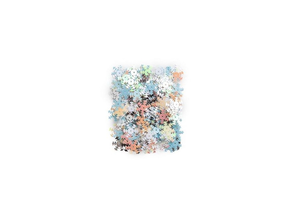 Sequins - Snowflakes, 10 g