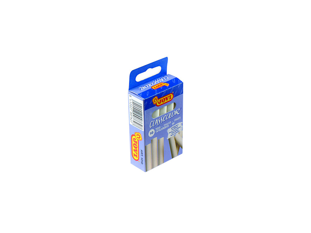 Chalks - Jovi - white, 9 x 80 mm, 10 pcs.