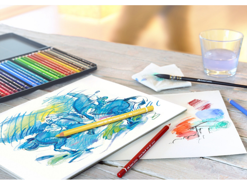Watercolor pencil A. Dürer - Faber-Castell - Light Phthalo Blue, 145