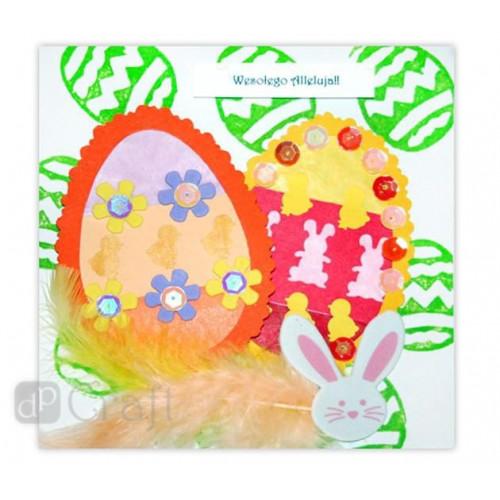 Wielkanocny zestaw stempli z pianki