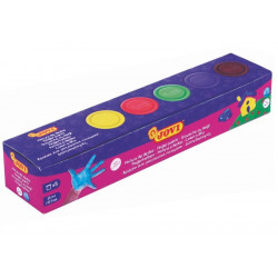 Farby do malowania palcami - Jovi - 5 kolorów x 35 ml