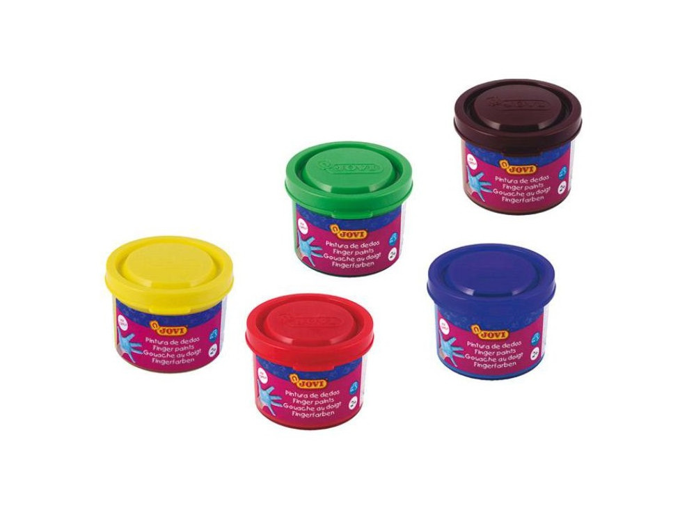 Finger paints - Jovi - 5 colors x 35 ml