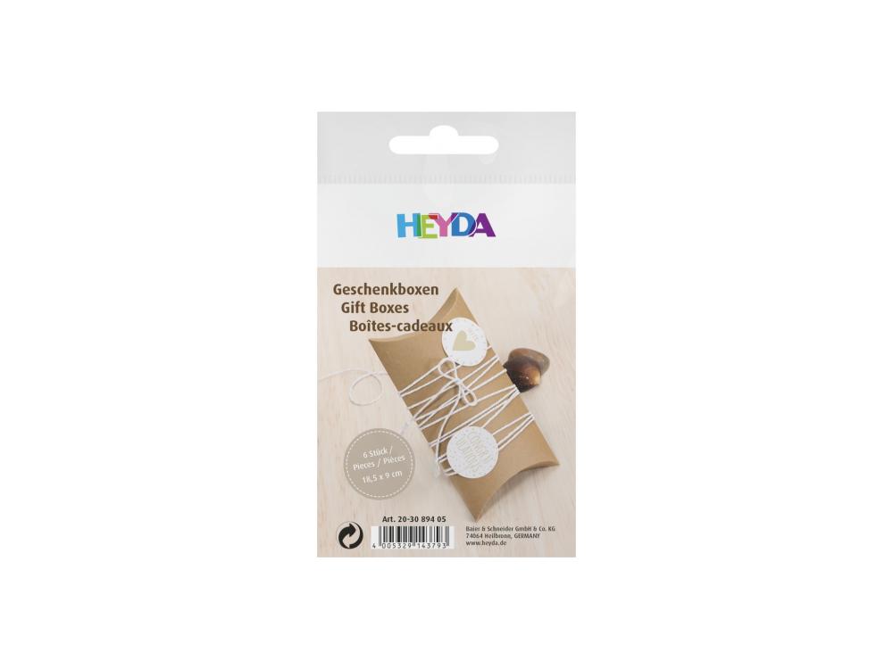 Carton boxes - Heyda - 18,5 x 9 cm, 6 pcs.