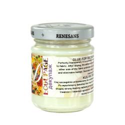 Klej do tkanin decoupage - Renesans - 110 ml