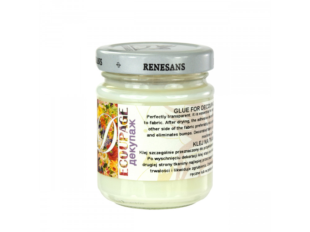 Klej do tkanin decoupage - Renesans - 110 ml