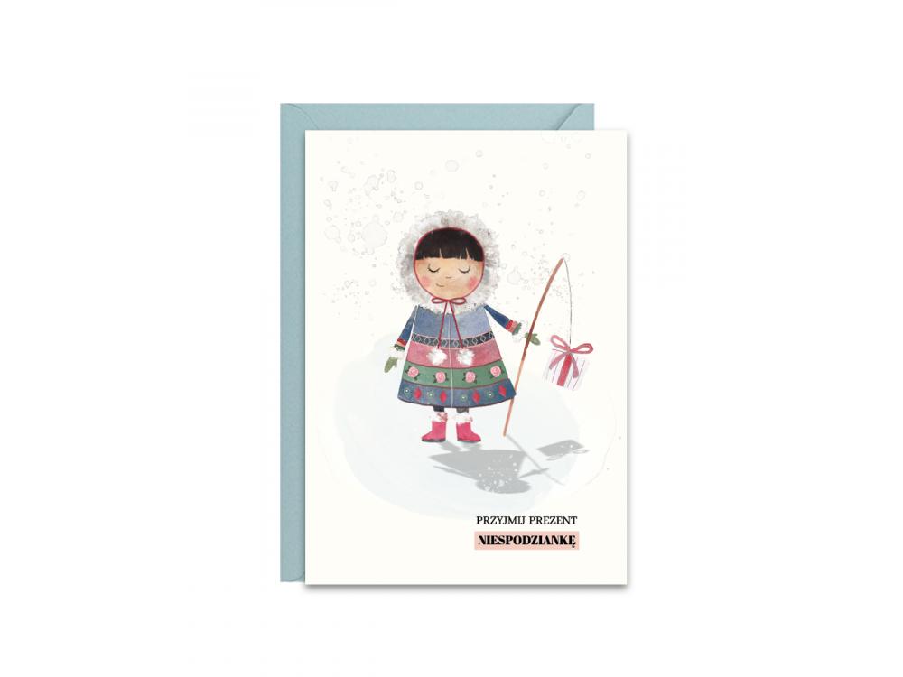 Greeting card A6 - Paperwords - Eskimo