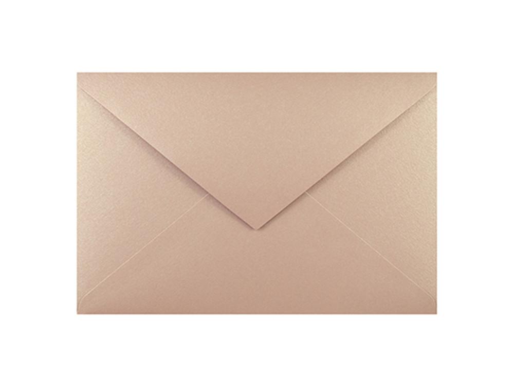 Curious Metallics envelope 120g - C6, Rose Gold